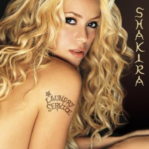 9 Shakira-Laundry Service I was nine,and had just started writing. Hearing this album made me want to write songs like Shakira. Underneath Your Clothes is still one of my favorite songs.