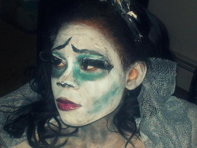 Two Halloween's ago. I was the Corpse Bride
